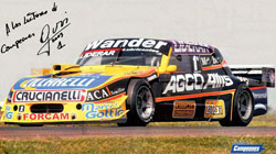 Omar Martinez - Ford Falcon TC